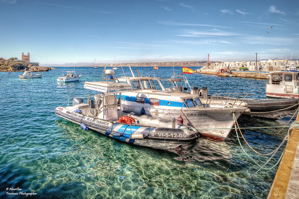 Puerto de la isla de tabarca i alicante isla de - Hoteles en isla tabarca ...