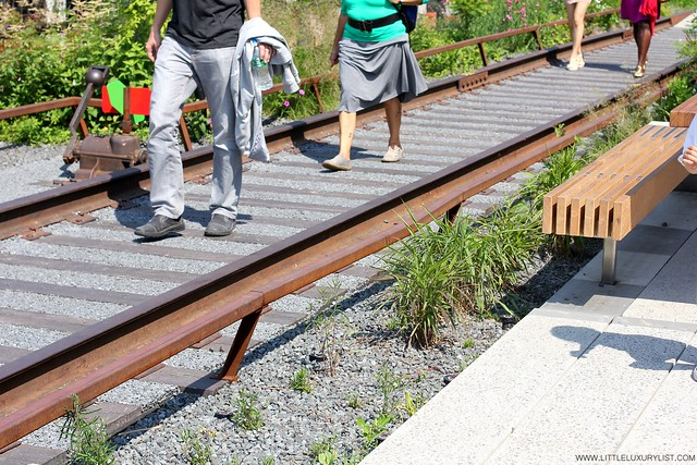 High line NYC by little luxury list