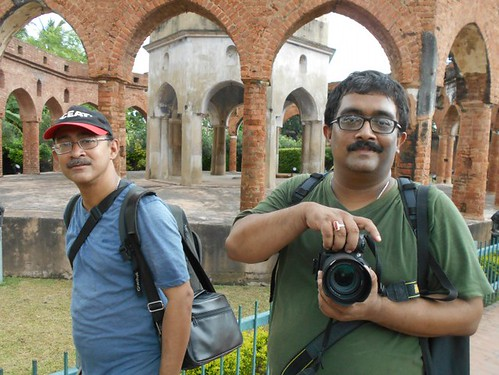 Sujay and Santanu Da - During Wiki Loves Monuments 2016, Kalna, West Bengal India