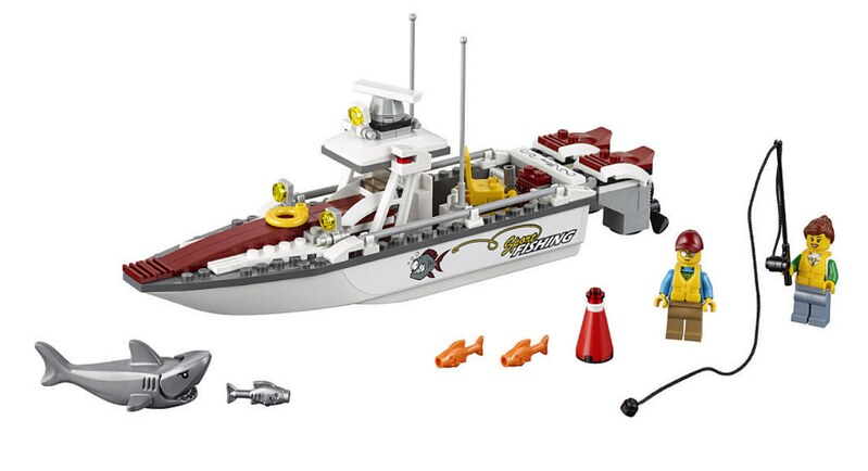 LEGO City 2017 - Fishing Boat (60147)