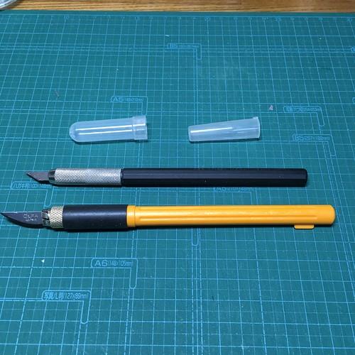 デザインナイフ 2 種