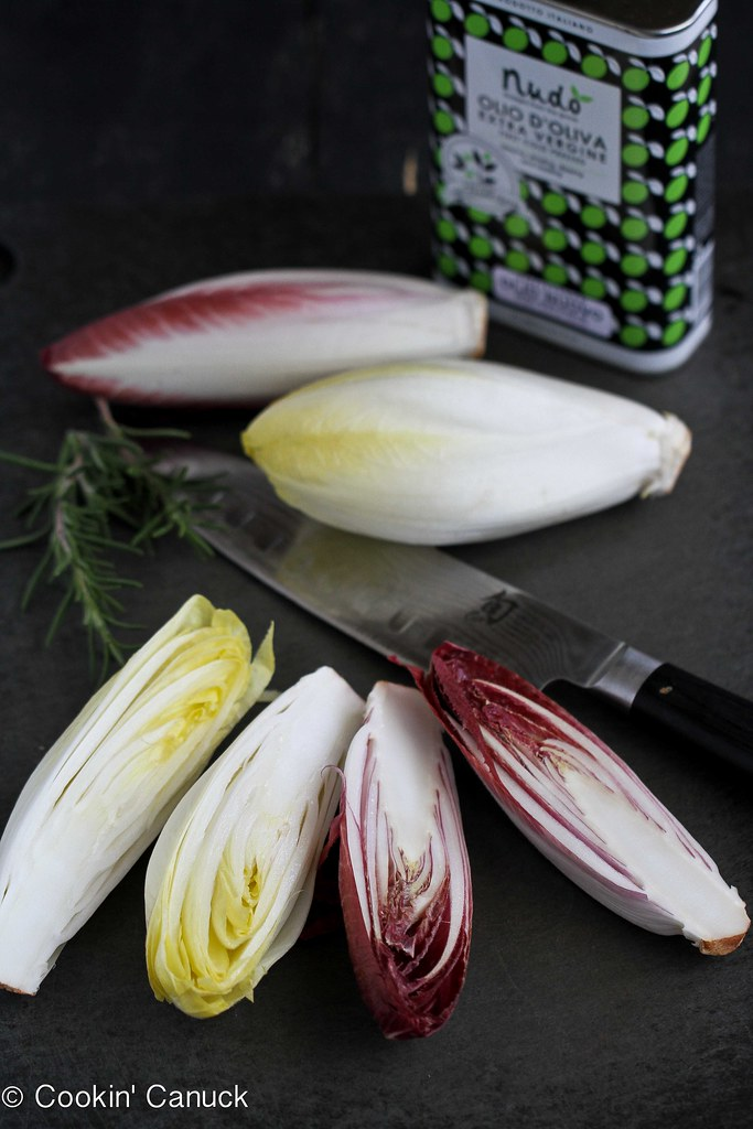 Grilled Endive Recipe with Pistachios, Dried Cherries & Fe… | Flickr