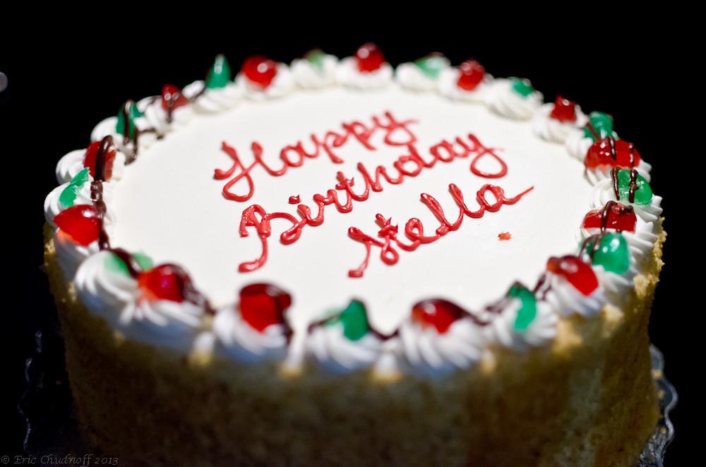 Rum Cake Birthday