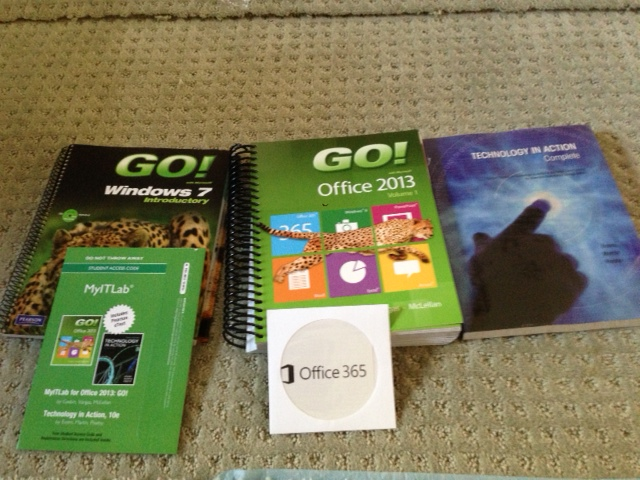 Norco College Cis 1a Book Bundle Go With Office 2013 Tec border=