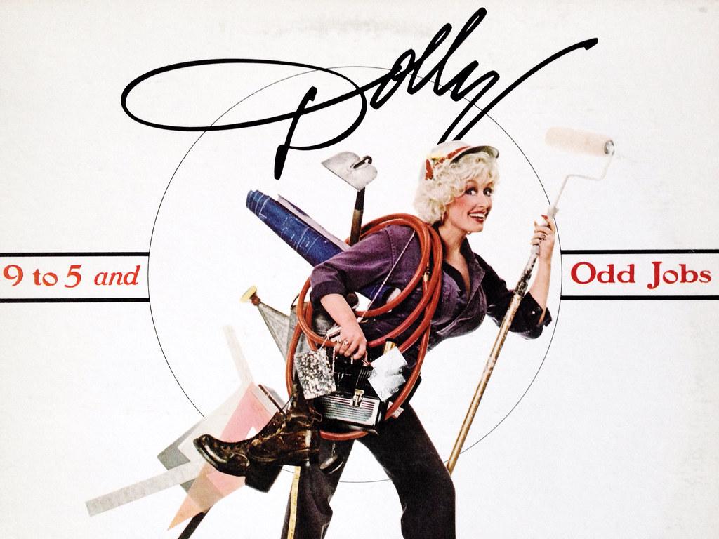 Dolly parton 9 to 5 album cover