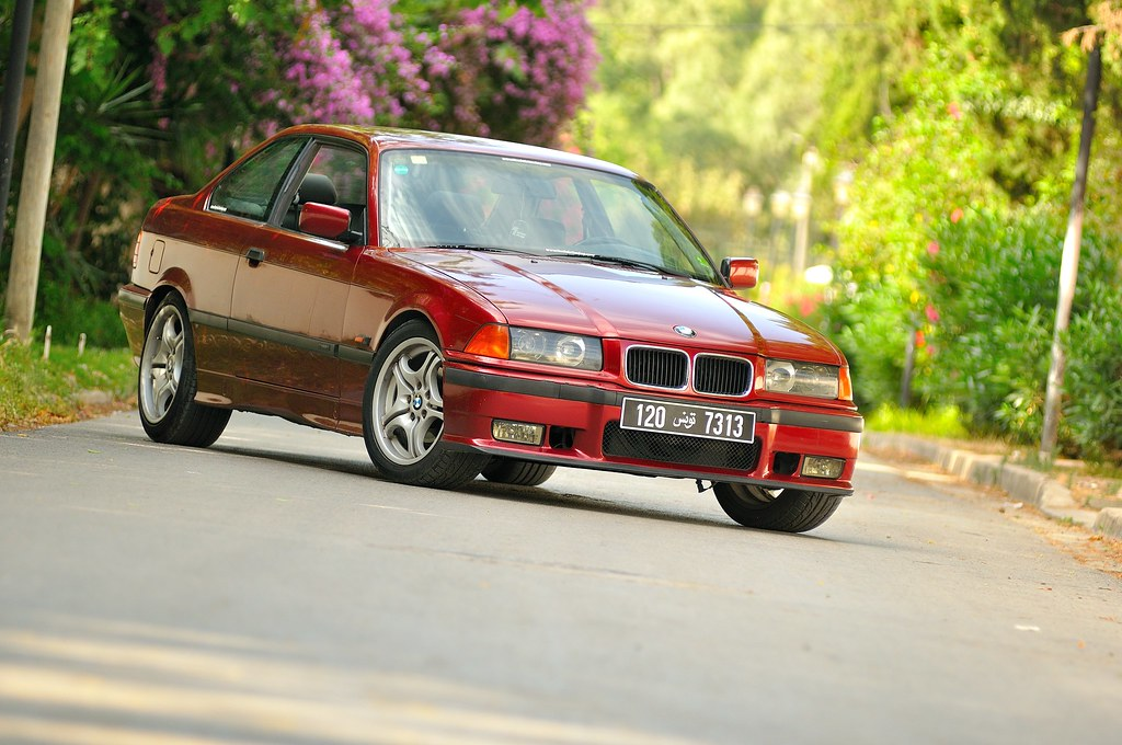 bmw e36 coupe calypsorot on style 68. Black Bedroom Furniture Sets. Home Design Ideas