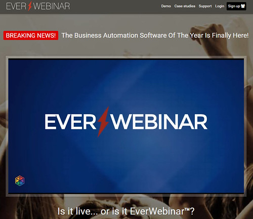 『EverWebinar』(エバーウェビナー)の販売サイト