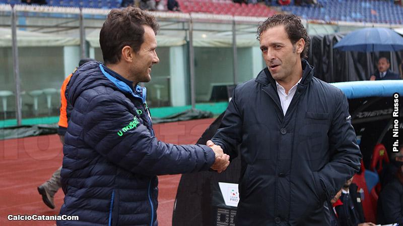 Pino Rigoli, qui con il monopolitano Diego Zanin, i numeri parlano per lui...