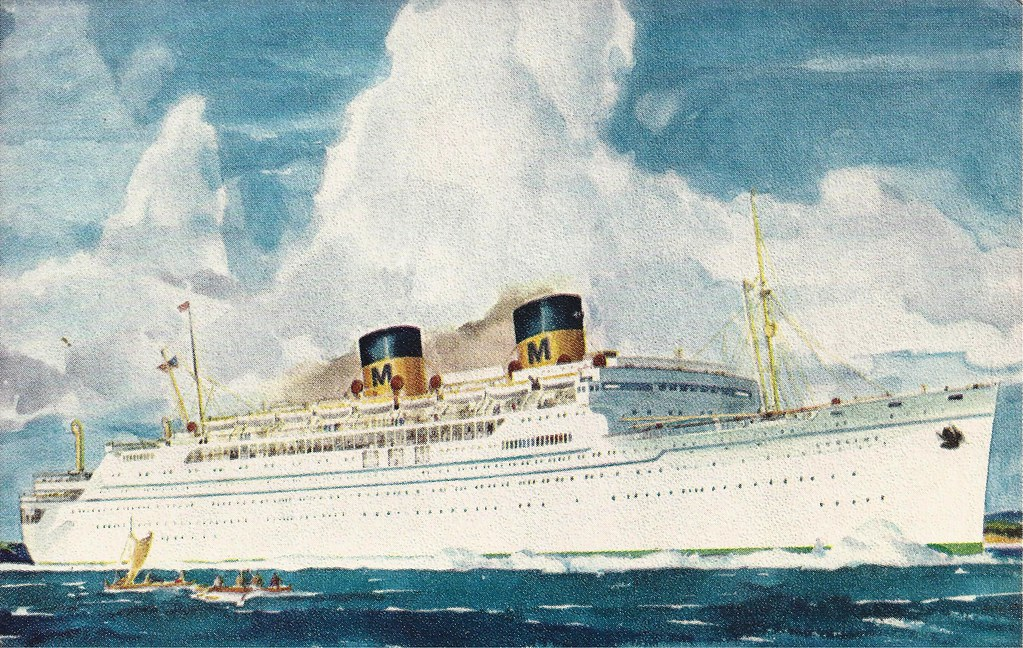 S.S. Lurline, Cruise Ship, Liner, Matson Lines | From
