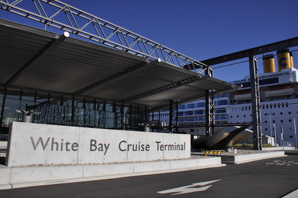 Entrance White Bay Cruise Terminal Sydney The