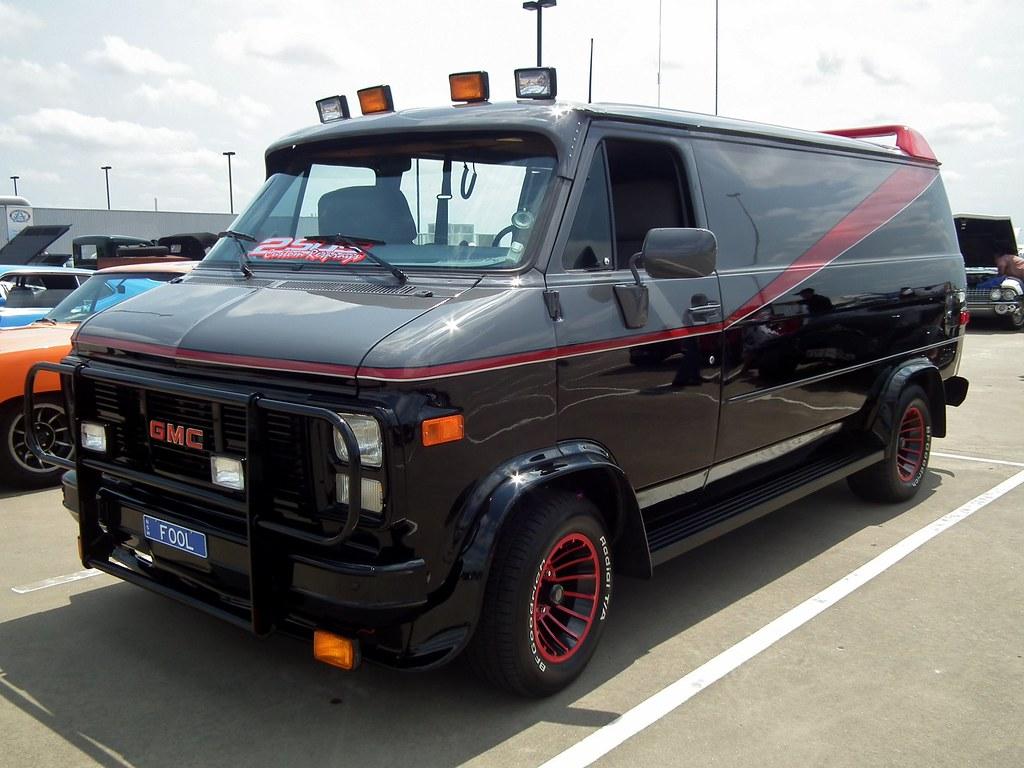 1983 GMC G-Series panel van - A Team | 1983 GMC G-Series pan… | Flickr