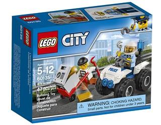 LEGO City ATV Arrest (60135) box