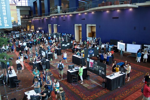 photo of poster sessions