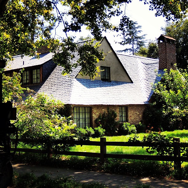 The House Of The Late Steve Jobs In Palo Alto California