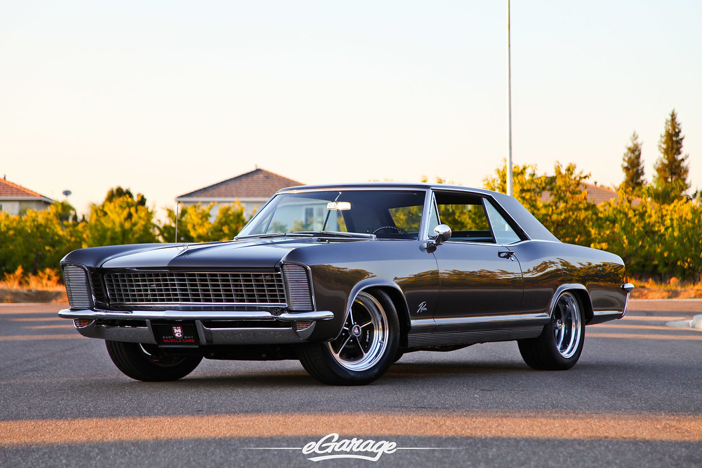 East Bay Muscle Cars 65 Buick Riviera | www.eGarage.com