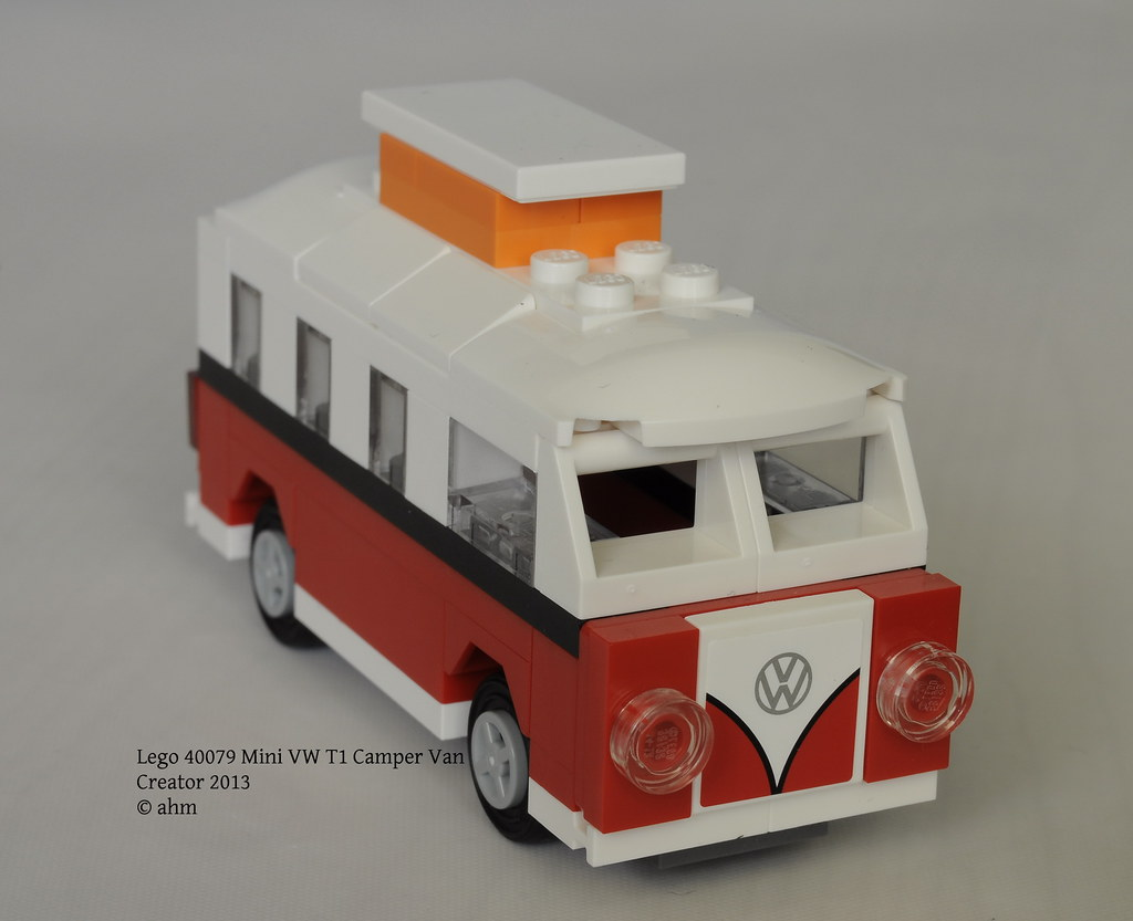 lego creator 40079 mini vw t1 camper van lego creator. Black Bedroom Furniture Sets. Home Design Ideas