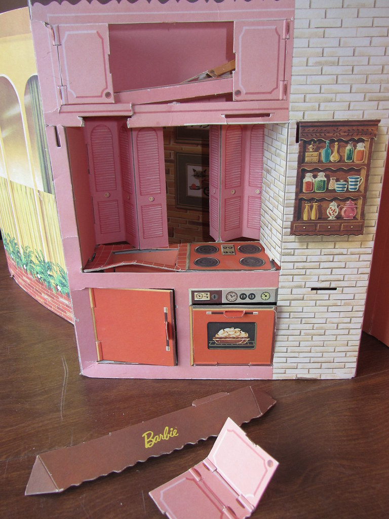 before tlc barbie dream house kitchen i am finally gett u2026 flickr