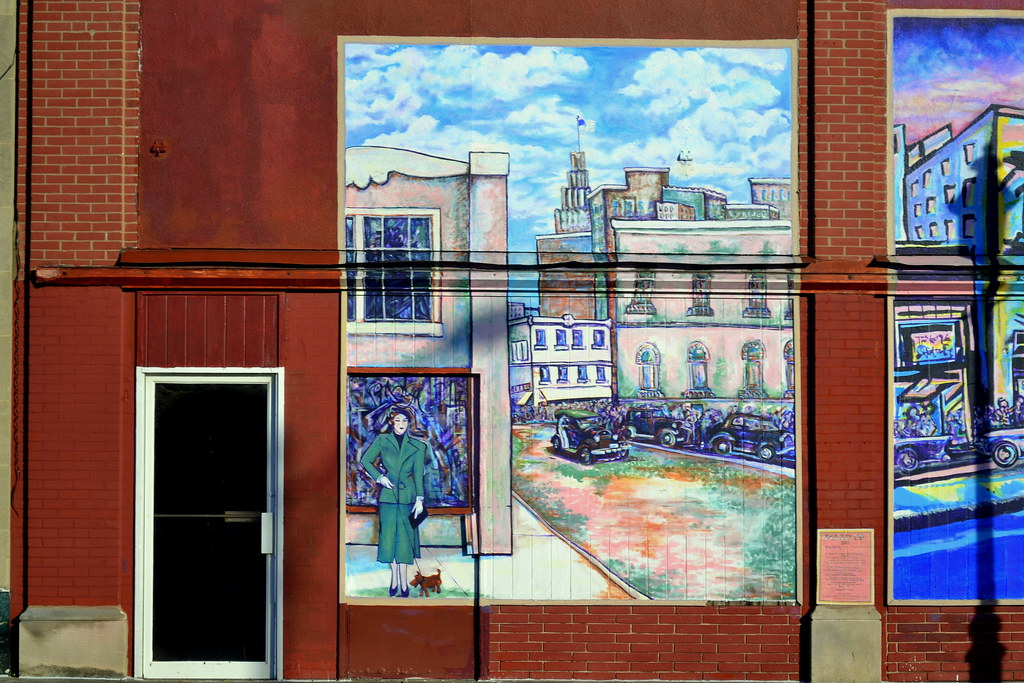 Murals downtown marianne dinapoli mylet winston salem nc for 6 blocks from downtown mural
