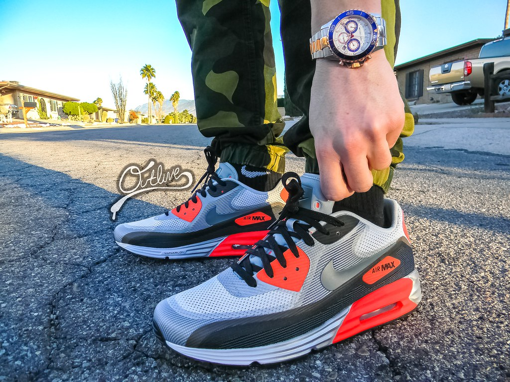 Air Max 90 Infrared Lunarlon