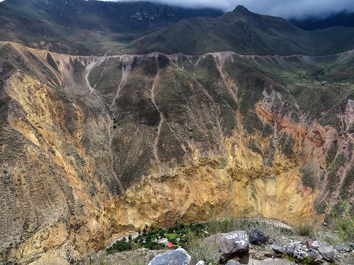 the oasis in Colca Canyon