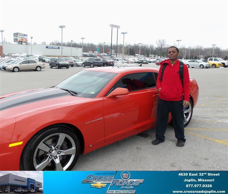 Jones Cadillac: Happy Anniversary To Stephen Jones On Your 2010 #Chevrolet…