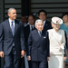 President Obama at the Welcome Ceremony in Japan