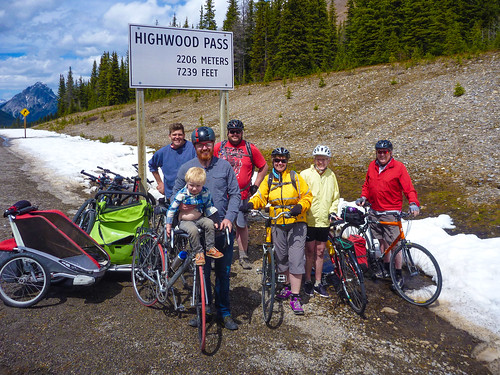 300km on the Highwood Pass