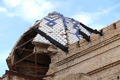 C pula en el palacete de la familia giner cortina en torre for Arquitecto 3d torrent