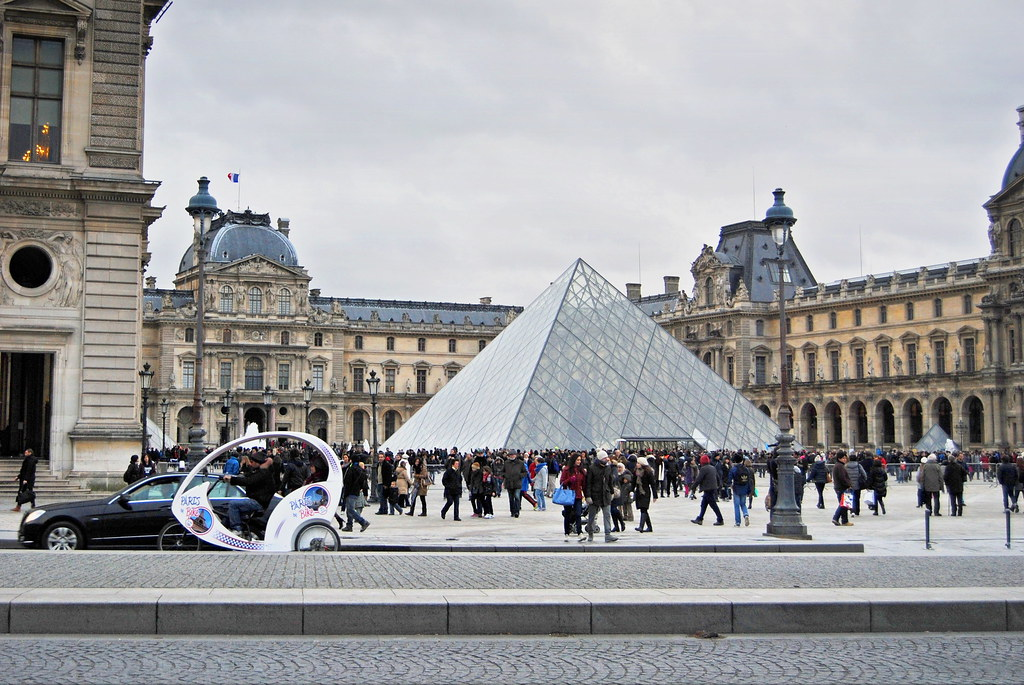 The Louvre in Paris is free to visit on the first sunday of the month.