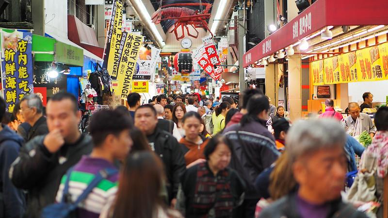 kuromon market 黑門市場|大阪 Osaka