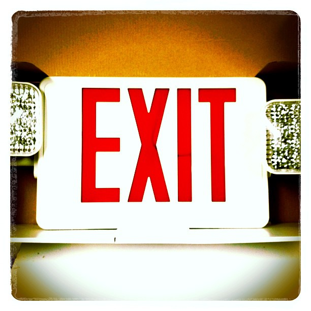 exit sign emergency light combo the esw tpc rw exit. Black Bedroom Furniture Sets. Home Design Ideas