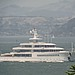 MUSASHI, yacht owned by Larry Ellison arriving in San Francisco 03July2013