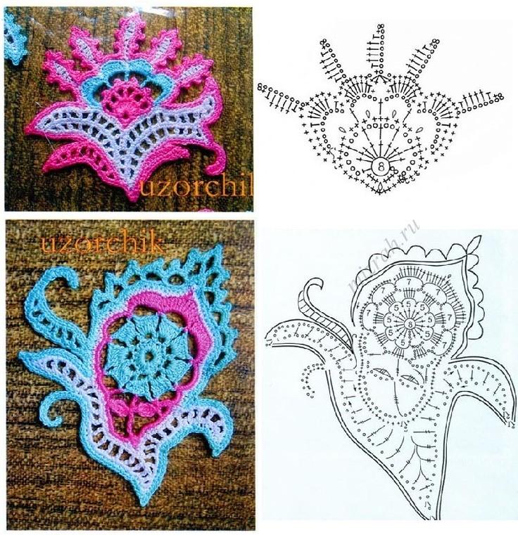 Free Crochet Paisley Motif Pattern Pakbit For