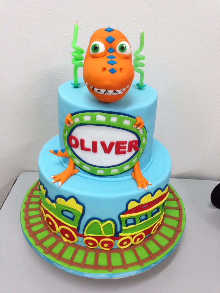 Dinosaur Train Cake Images : Dinosaur Train Cake Tracey Chooi Flickr