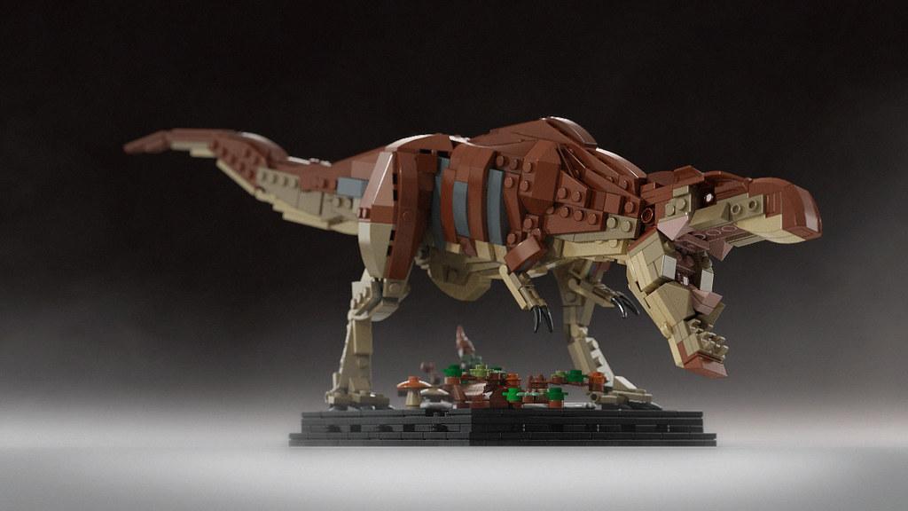 Bricksauria turntable video on youtube sami - Lego dinosaures ...