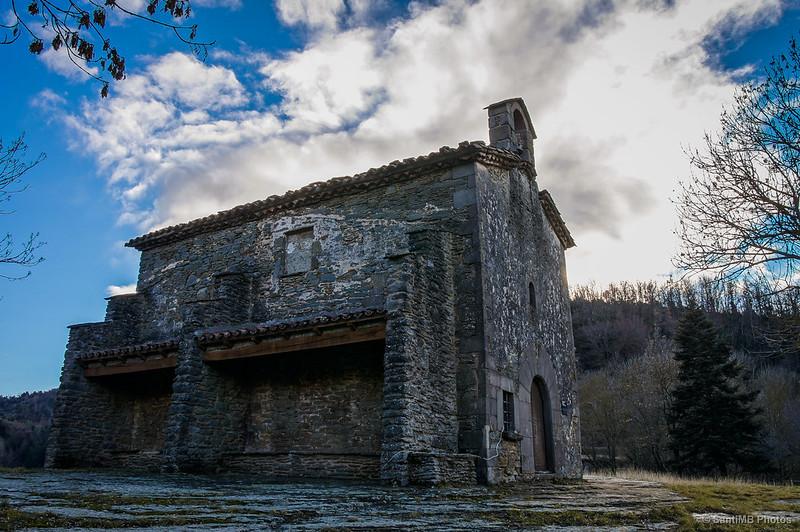 Ermita de Santa Magdalena, en Rupit