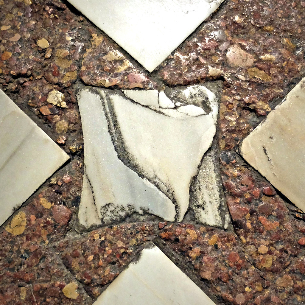 ... Cathedral, antique marble floor detail Rotraud Weiss Flickr