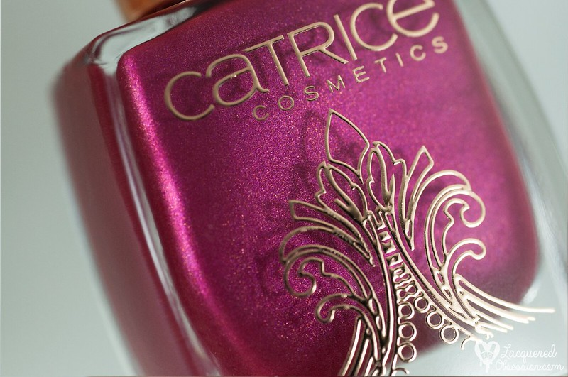 Catrice - Berry British & Poetic Pink + stamping
