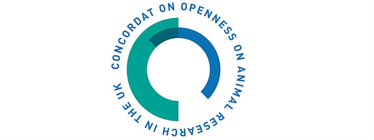 The logo for the Concordat on Openness on Animal Research in the UK