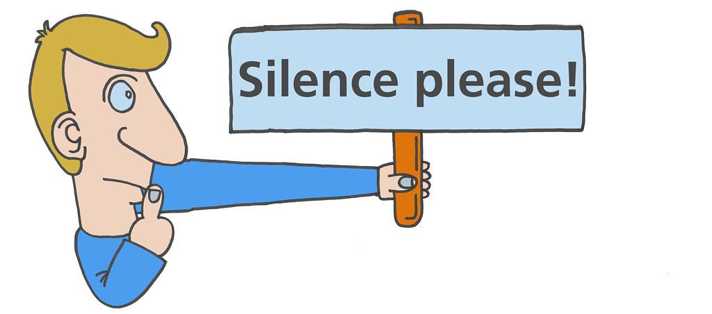 silence please illustration stoney urs steiner flickr. Black Bedroom Furniture Sets. Home Design Ideas