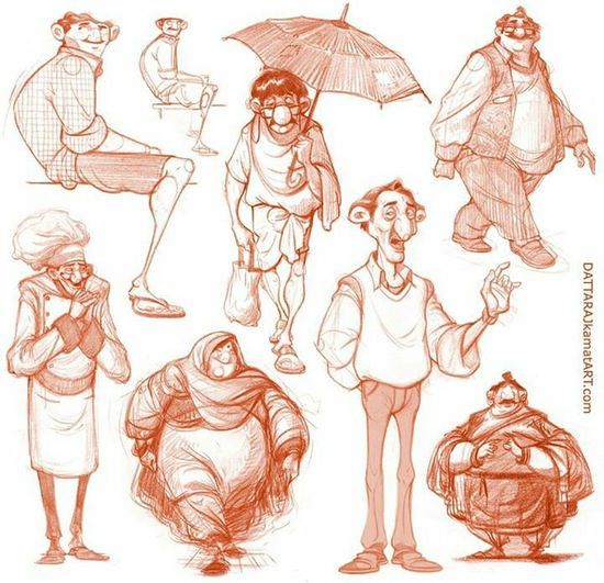 Character Design Reference Photos : Character design references