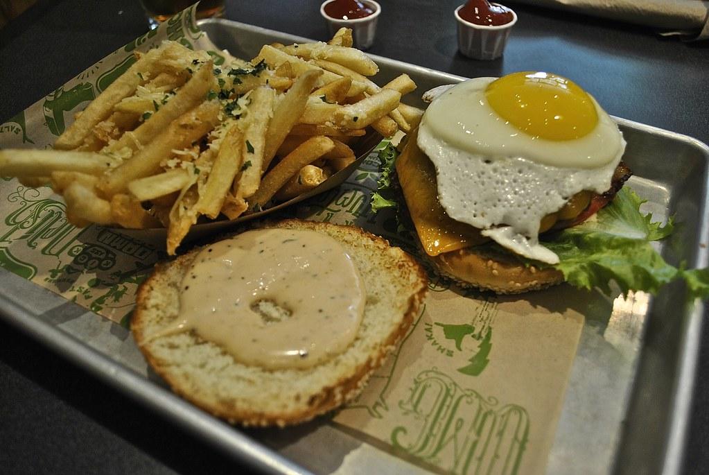 Super Duper Burger Garlic Fries at Super Duper Burger in