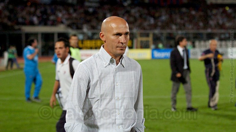 Maurizio Costantini, tecnico del Catania per parte della stagione 2004-05