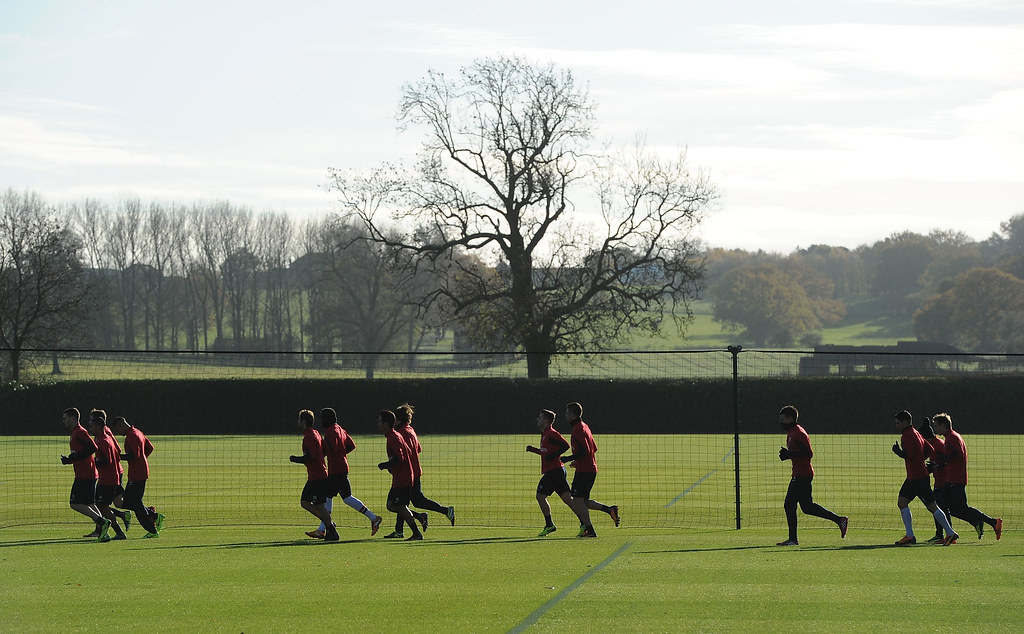 Pictures: Arsenal welcome important star back to training ahead of Sunday
