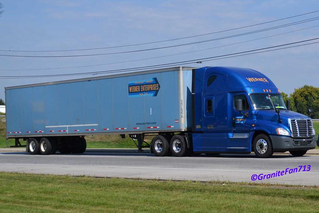 Werner Enterprises Freightliner Cascadia Evolution | Flickr ...