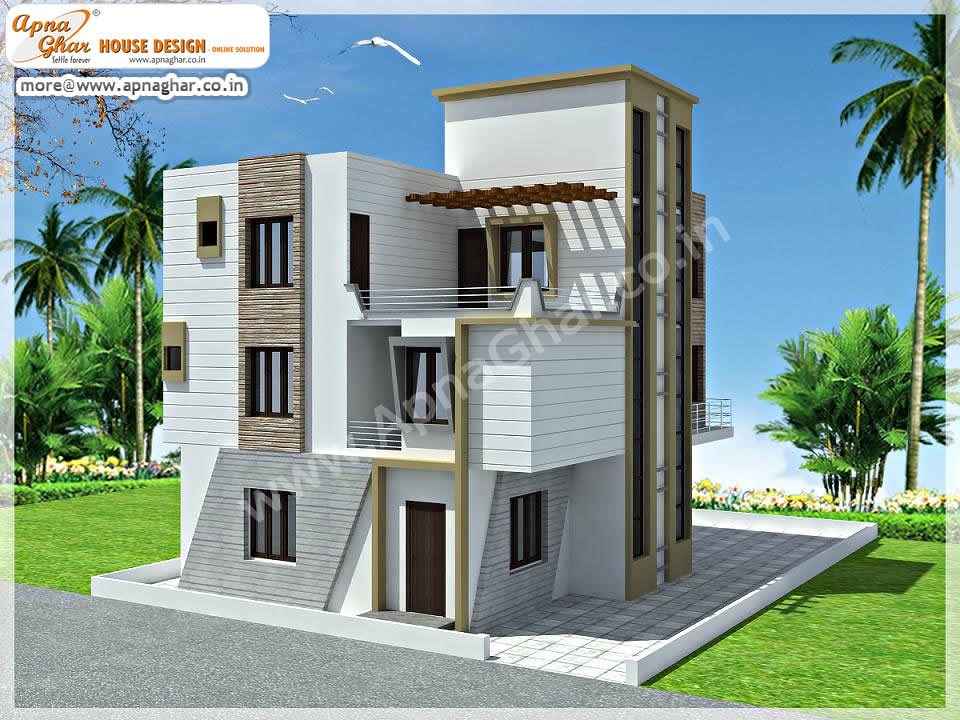 Triplex house design joy studio design gallery best design for Triplex home plans