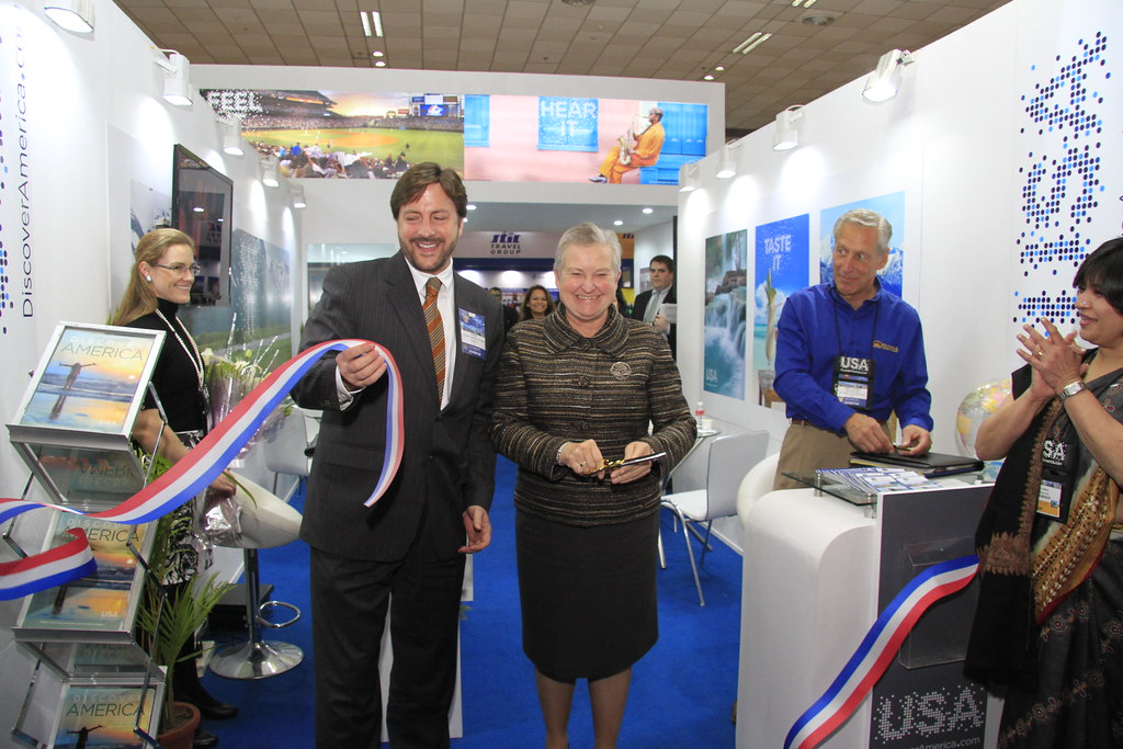 Ambassador Powell At Inauguration Of Brand Usa Pavilion S Flickr