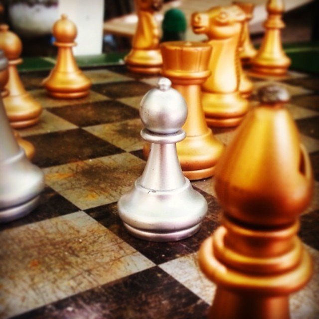 We can live safely because of sacrifice from a lot of people. Some of us have to give up their lives to ensure that others can sleep soundly. Similar to how a pawn is sacrificed in a game of chess.