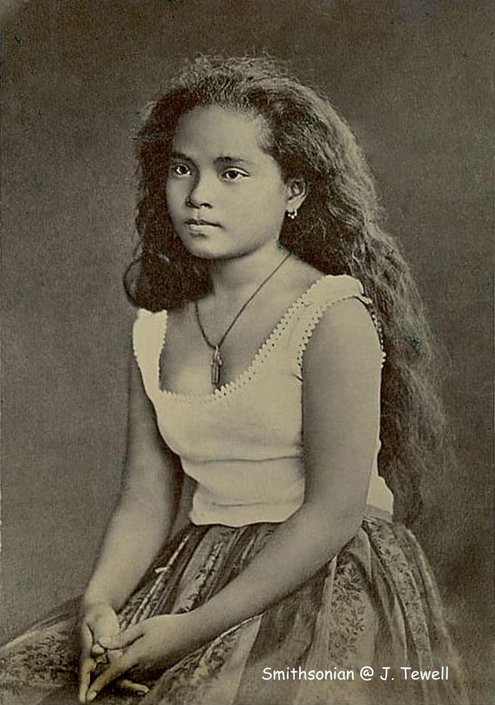 Native Girl, Manila, Philippines, About 1880  National -2828