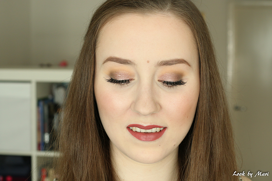 2 brown smoky eye look